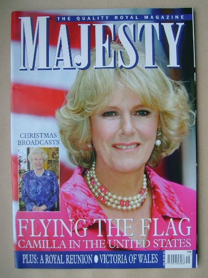<!--2005-12-->Majesty magazine - Camilla Parker Bowles cover (December 2005