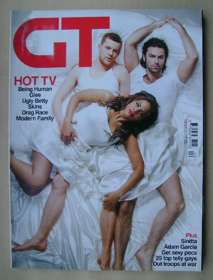 <!--2010-02-->Gay Times magazine - February 2010