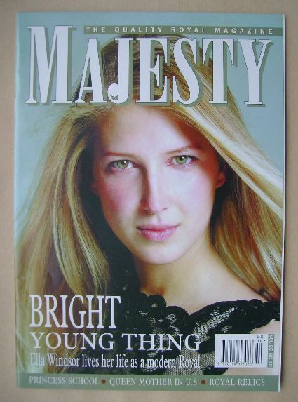 <!--2004-10-->Majesty magazine - Ella Windsor cover (October 2004 - Volume