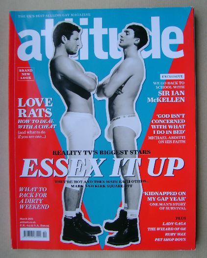 <!--2011-03-->Attitude magazine - Mark Wright and Kirk Norcross cover (Marc