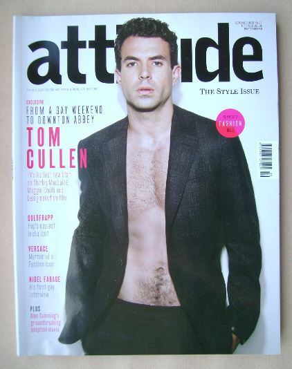 <!--2013-09-->Attitude magazine - Tom Cullen cover (September 2013)