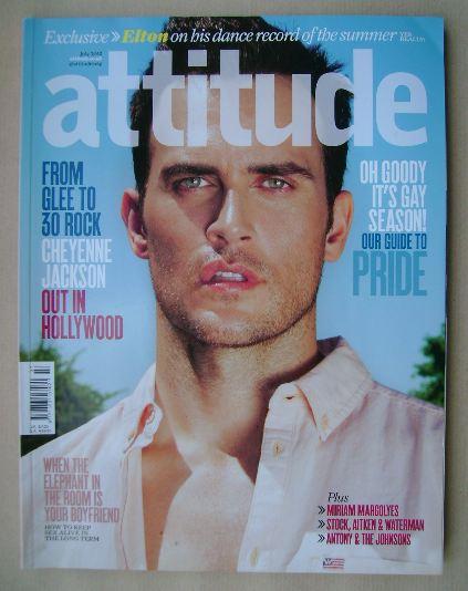 <!--2012-07-->Attitude magazine - Cheyenne Jackson cover (July 2012)