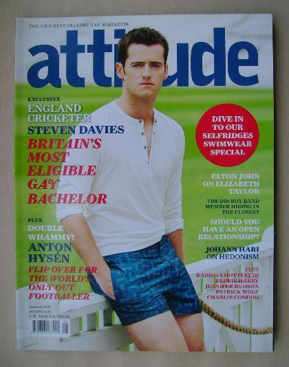 <!--2011-07-->Attitude magazine - Steven Davies cover (Summer 2011)