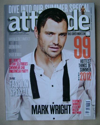 <!--2012-07-->Attitude magazine - Mark Wright cover (Summer 2012)