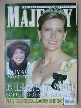 Majesty magazine - Sophie Wessex cover (January 2006 - Volume 27 No 1)
