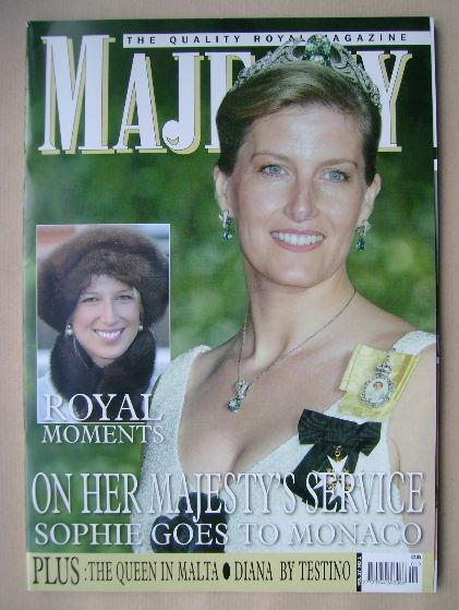 <!--2006-01-->Majesty magazine - Sophie Wessex cover (January 2006 - Volume