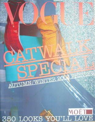 British Vogue supplement - Catwalk Special Autumn/Winter 2003 Preview