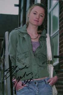 Elaine Symons autograph (Waterloo Road actor)