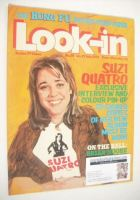 <!--1974-07-27-->Look In magazine - Suzi Quatro cover (27 July 1974 - Number 29)