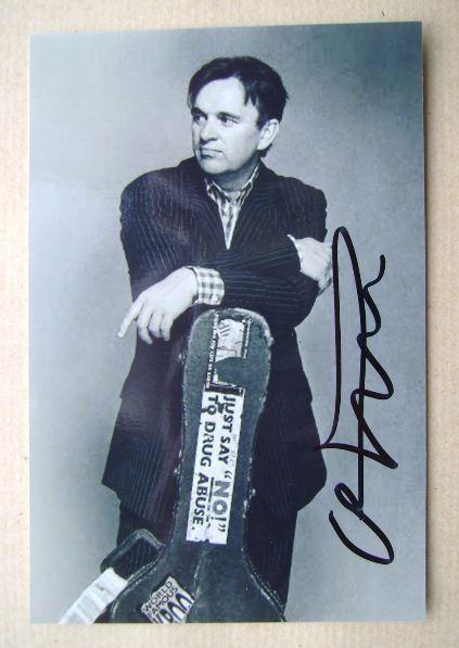 Chris Difford autograph