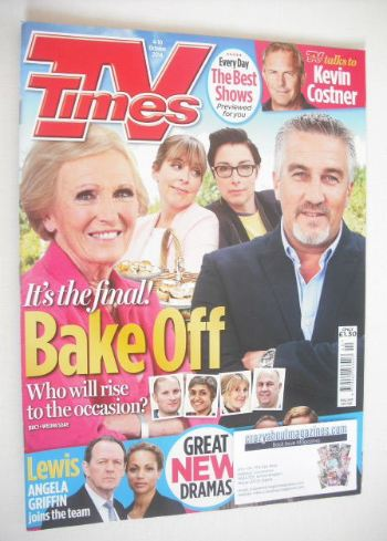 <!--2014-10-04-->TV Times magazine - Mary Berry and Paul Hollywood cover (4