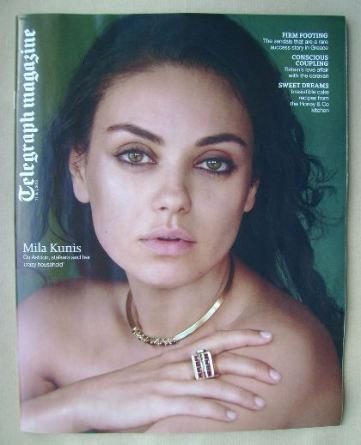 <!--2015-07-114-->Telegraph magazine - Mila Kunis cover (11 July 2015)