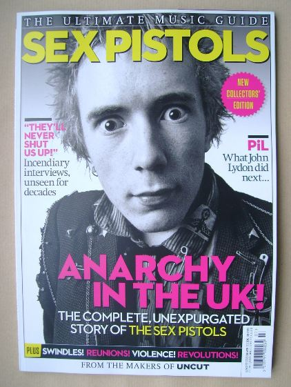 <!--2015-08-->The Ultimate Music Guide magazine - John Lydon cover (August