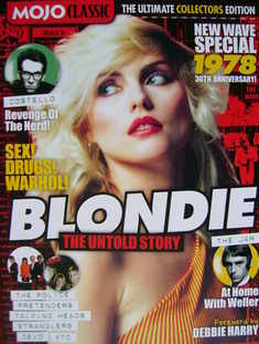 MOJO CLASSIC magazine - Debbie Harry cover (New Wave Special - 30th Anniver