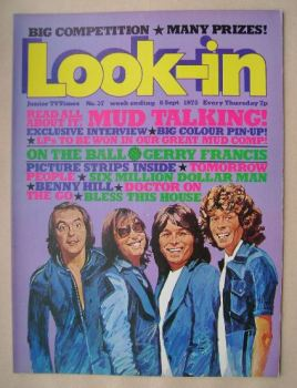 Look In magazine - 6 September 1975