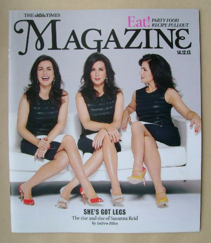 <!--2013-12-14-->The Times magazine - Susanna Reid cover (14 December 2013)