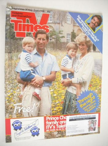 <!--1988-05-28-->TV Times magazine - Prince Charles and Princess Diana cove