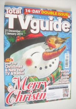 Total TV Guide magazine - Christmas issue (21 December 2013 - 3 January 2014)