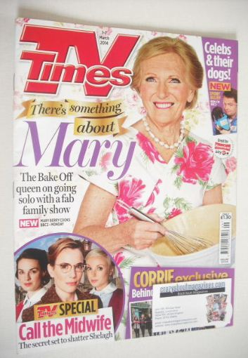 <!--2014-03-01-->TV Times magazine - Mary Berry cover (1-7 March 2014)
