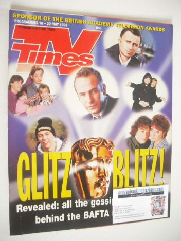 <!--1998-05-16-->TV Times magazine - Glitz Blitz cover (16-22 May 1998)