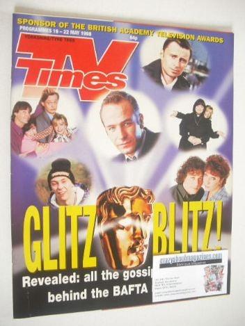 <!--1998-05-16-->TV Times magazine - Glitz Blitz cover (16-22 May 1998)