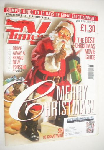 <!--1999-12-18-->TV Times magazine - Christmas Issue (18-31 December 1999)