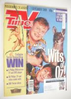 <!--2000-08-26-->TV Times magazine - Neil Morrissey and Martin Clunes cover (26 August - 1 September 2000)