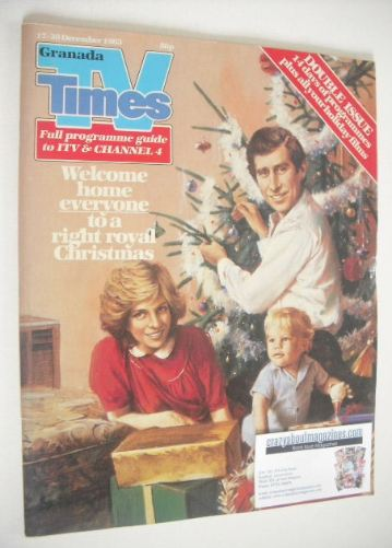 <!--1983-12-17-->TV Times magazine - Christmas Issue (17-30 December 1983)