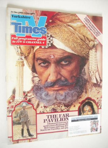 <!--1983-12-31-->TV Times magazine - The Far Pavilions cover (31 December 1