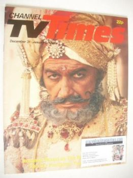 CTV Times magazine - 31 December 1983 - 6 January 1984 - The Far Pavilions cover