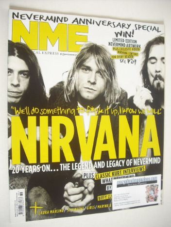 <!--2011-09-10-->NME magazine - Nirvana cover (10 September 2011)