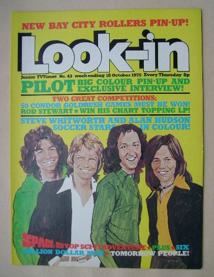 <!--1975-10-18-->Look In magazine - Pilot cover (18 October 1975 - Number 4