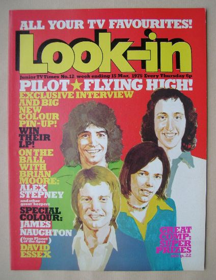 <!--1975-03-15-->Look In magazine - Pilot cover (15 March 1975)