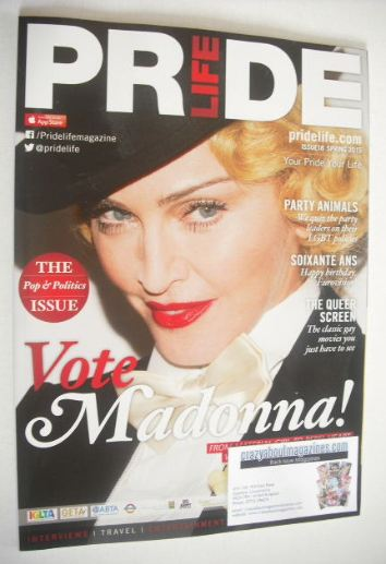 <!--2015-04-->Pride Life magazine - Madonna cover (Spring 2015 - Issue 18)