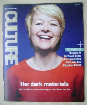 Culture magazine - Sarah Waters cover (24 August 2014)