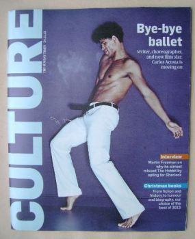 Culture magazine - Carlos Acosta cover (24 November 2013)