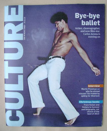 <!--2013-11-24-->Culture magazine - Carlos Acosta cover (24 November 2013)