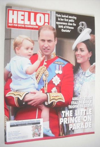 <!--2015-06-22-->Hello! magazine - Prince William, Kate Middleton and Princ