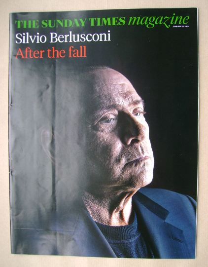 <!--2014-01-26-->The Sunday Times magazine - Silvio Berlusconi cover (26 Ja