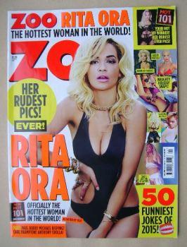 Zoo magazine - Rita Ora cover (17-23 July 2015)