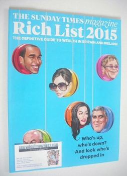 The Sunday Times magazine - Rich List 2015 (26 April 2015)