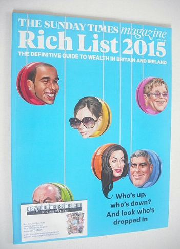 <!--2015-04-26-->The Sunday Times magazine - Rich List 2015 (26 April 2015)