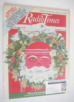 Radio Times magazine - Christmas cover (22 December 1984 - 4 January 1985)