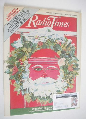 <!--1984-12-22-->Radio Times magazine - Christmas cover (22 December 1984 -