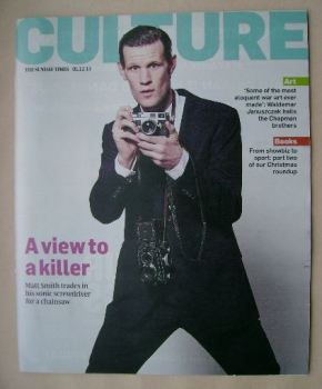 Culture magazine - Matt Smith cover (1 December 2013)