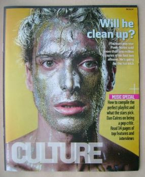 Culture magazine - Paolo Nutini cover (9 February 2014)