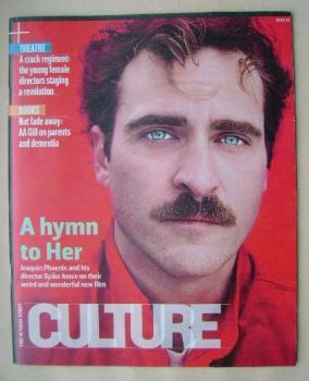 Culture magazine - Joaquin Phoenix cover (26 January 2014)