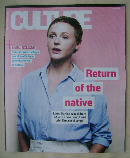 <!--2015-03-22-->Culture magazine - Laura Marling cover (22 March 2015)