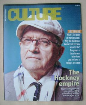 Culture magazine - David Hockney cover (2 February 2014)