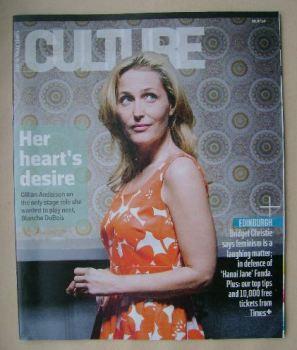 Culture magazine - Gillian Anderson cover (6 July 2014)
